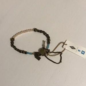 Me to We Fossil Bracelet